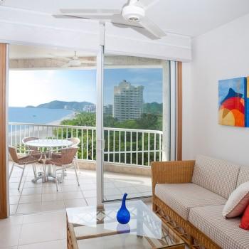 Sala Apartamento Tipo 1 — Hotel Irotama del Sol (Santa Marta,
