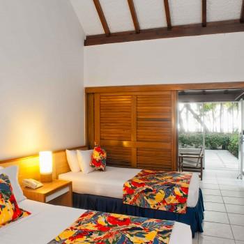 Habitación Bungalow Tipo 2 (Doble) — Hotel Irotama Resort, Santa Marta (Colombia) www.irotama.com. Fotógrafo Mario Carvajal (www.mariocarvajal.com) - Astrolabio, fotografía de hoteles (www.astrolabio.com.co)